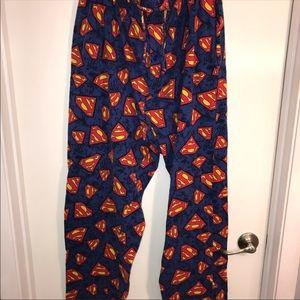 Superman lounge/sleep pants